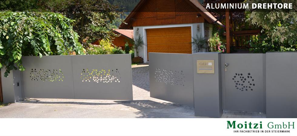 ihr fachbetrieb in der steiermark f r aluminium balkone z une drehtore schiebetore moitzi. Black Bedroom Furniture Sets. Home Design Ideas